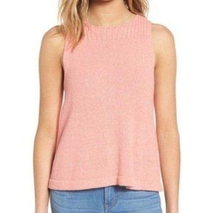 Madewell Sweater Tank Large Ribbed